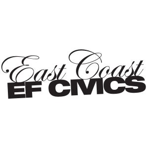 Image of East Coast EF Civics Official Decal