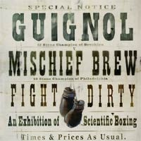"Image of Guignol & Mischief Brew - ""Fight Dirty"" CD"