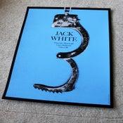 Image of Jack White poster Tulsa OK 2012