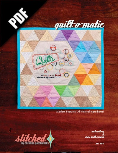Image of No. 064 -- Quilt-O-Matic {PDF Version}