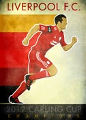 Image of 2012 Carling Cup Poster by DENNIS BURNSIDE