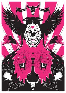 Image of Beard Of Death Screen print