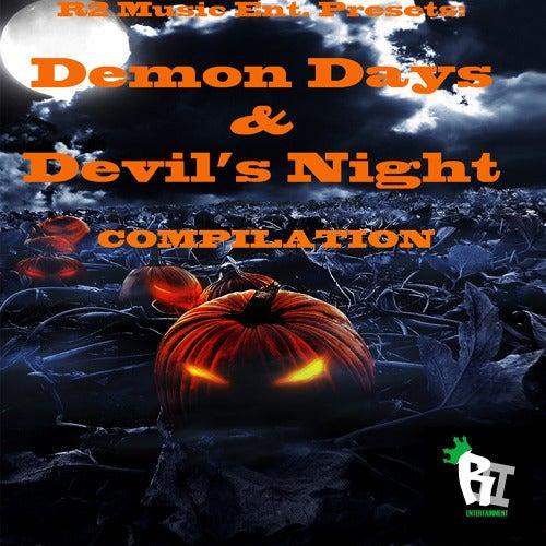 Image of R2 Music Ent. Presents - Demon Days & Devil's Night Compilation