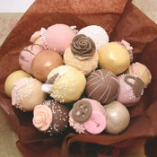 Image of 'Hand Bags and Glad Rags' Cake Pop Bouquet