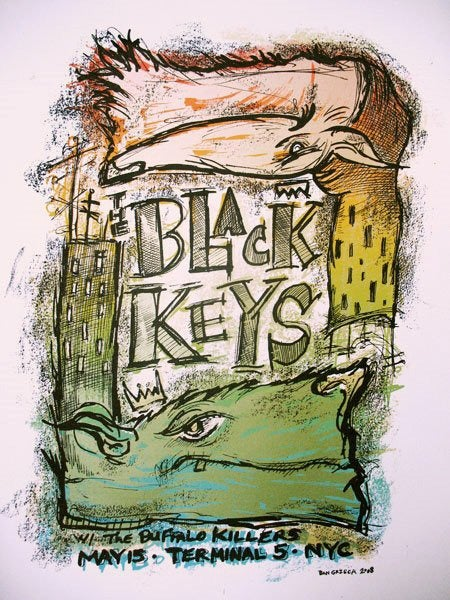 Image of Black Keys NYC 2008