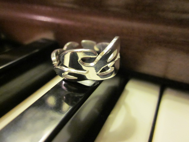 Image of Cheryl's Dope Sterling Silver Personalized Love Ring
