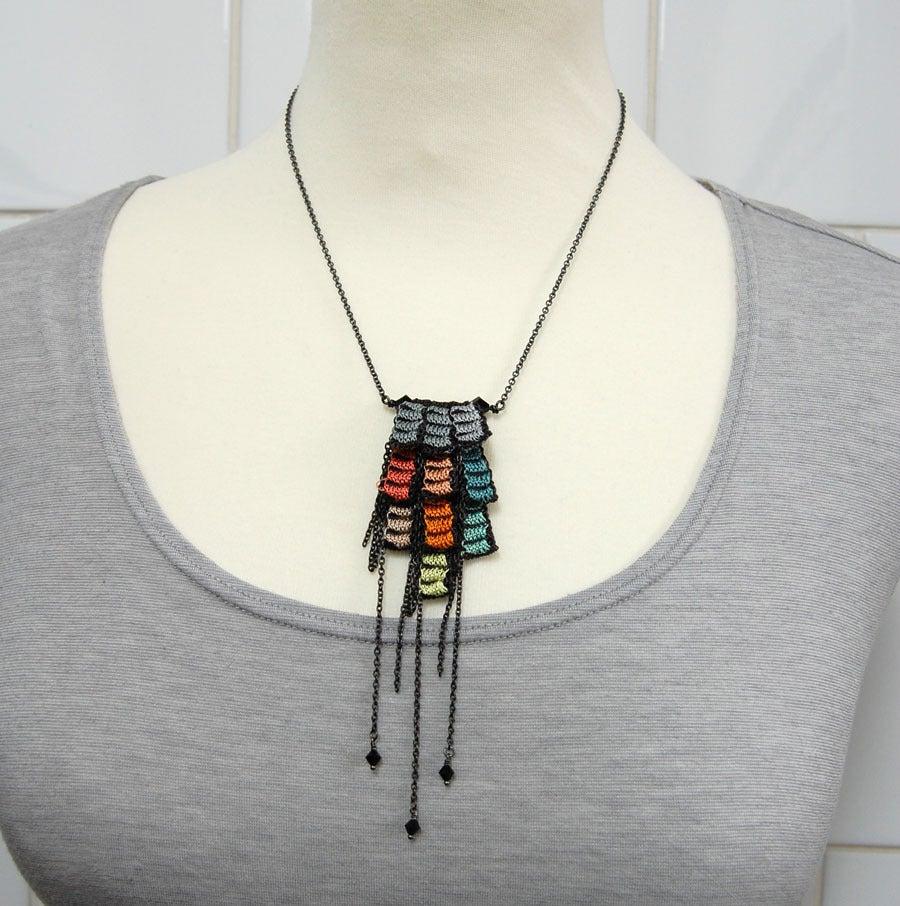Image of Mini Pixels Necklace