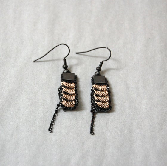 Image of One Pixel Earrings BLUSH