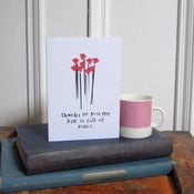 Image of 'Thanks to You' Greetings Card