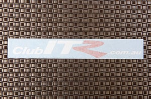 Image of ClubITR.com.au Sticker (White)