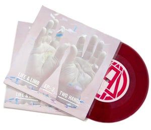"Image of Life & Limb Two Hands 7"" EP"