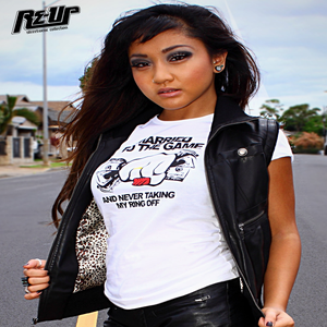 Image of MARRIED TO THE GAME RE-UP X FIRST LADY COLLAB WOMEN'S TEE