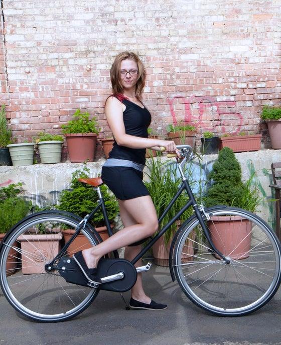 Image of Little Black Bike Dress