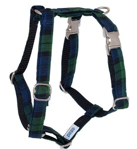 Image of Black Watch Tartan Dog Harness in the category  on Uncommon Paws.
