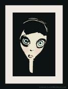 Image of Doll Face Cartoon Art Print