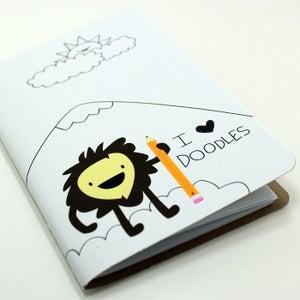 Image of I Heart Doodles Pocket Notebook