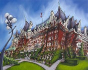 Image of Fairmont Empress Hotel Limited Edition Giclee