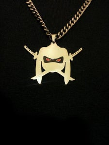Image of Thugzy Bunnie Logo Charm Regular or limited edition with red eyes