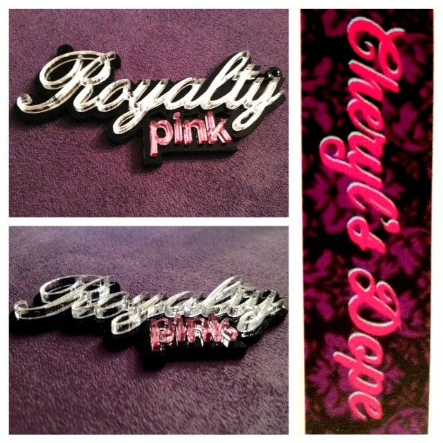 Image of DIY Acrylic Customized Logo Necklace