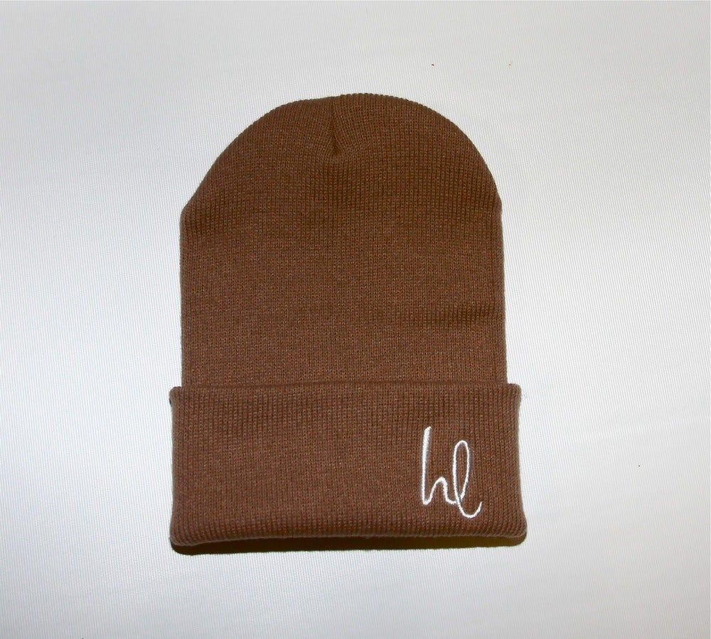 Image of Hungry Lifestyle Swoop Beanie (Khaki)