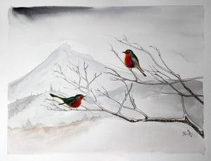 Image of Benachie birds