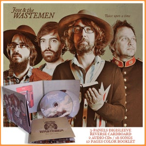 "Image of JOSE AND THE WASTEMEN ""Twice Upon a Time"" DOUBLE ALBUM / 9,99 EUROS POSTPAID"