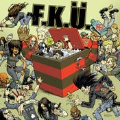 Image of F.K.Ü. Horror Metal Moshing Machine 7""