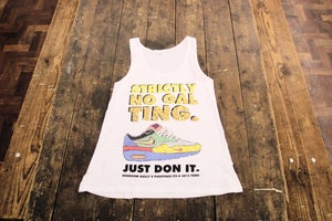 Image of strictly no gal ting - vest