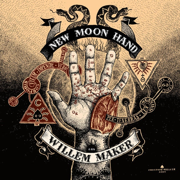 Image of New Moon Hand 180 gram Vinyl