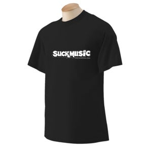 Image of Suckmusic T-Shirt (2012 Design)