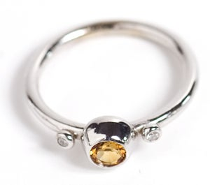 Image of Yellow Sapphire Ring