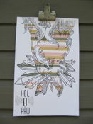 """Image of Four Color 11""""x17"""" Four color silkscreened poster"""