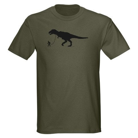 Dino Walker Adult Unisex T Shirt Marcartshop