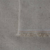 PLAIN Basecloth Fabric ~ Natural Linen
