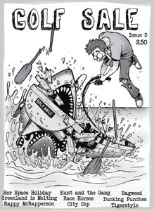 Image of Golf Sale zine issue 3