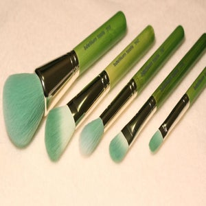 "Image of Green Bamboo 5pc ""Mineral"" Brush Kit"