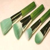 "Image of Green Bamboo 4pc ""Foundation"" Brush Kit"
