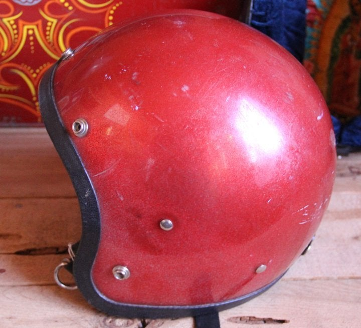 Image of 3/4 Red Helmet