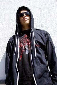 "Image of Mashafix ""ANARCHY"" lightweight zip hoodie"