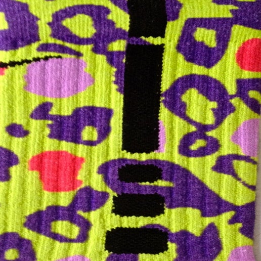 Image of California Leopard Edition Nike Elite Socks