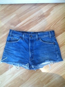 Image of High-Waist Shorts