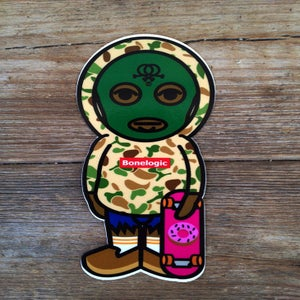 Image of Tyler The Creator X Bonelogic sticker series #2