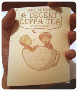Image of How To Make a Decent Cuppa Tea Mini Comic