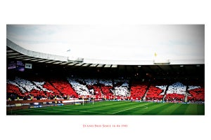 Image of Ltd Ed: Red Army - Lomo: Hampden 14.04.2012