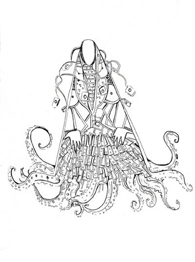 Image of Octopussy 2 Drawing