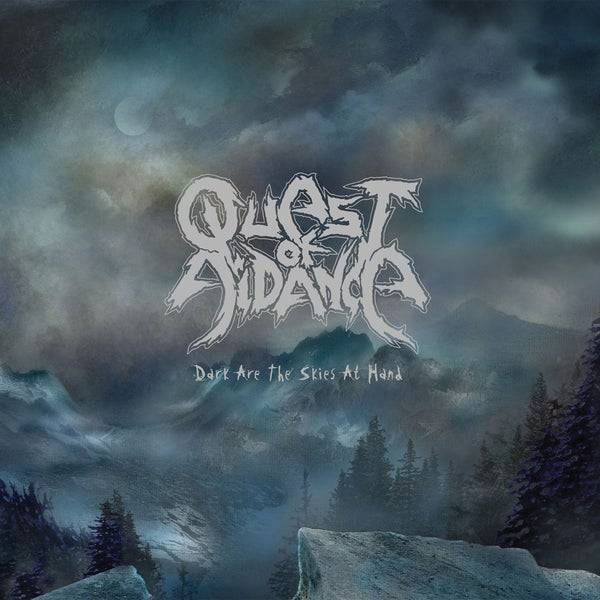 "Image of QUEST OF AIDANCE ""Dark Are The Skies At Hand"" 10"" Vinyl Gatefold EP"