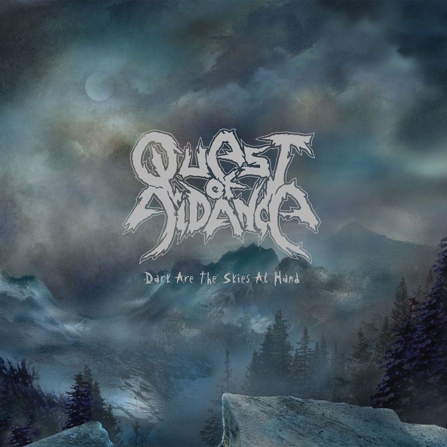 """Image of QUEST OF AIDANCE """"Dark Are The Skies At Hand"""" 10"""" Vinyl Gatefold EP"""