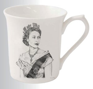 Image of Diamond Jubilee Bone China Mug
