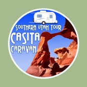 Image of Southern Utah Tour - Casita Caravan Decal or Bumper Sticker
