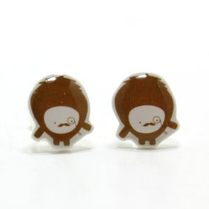Image of Brown Moustache Monster